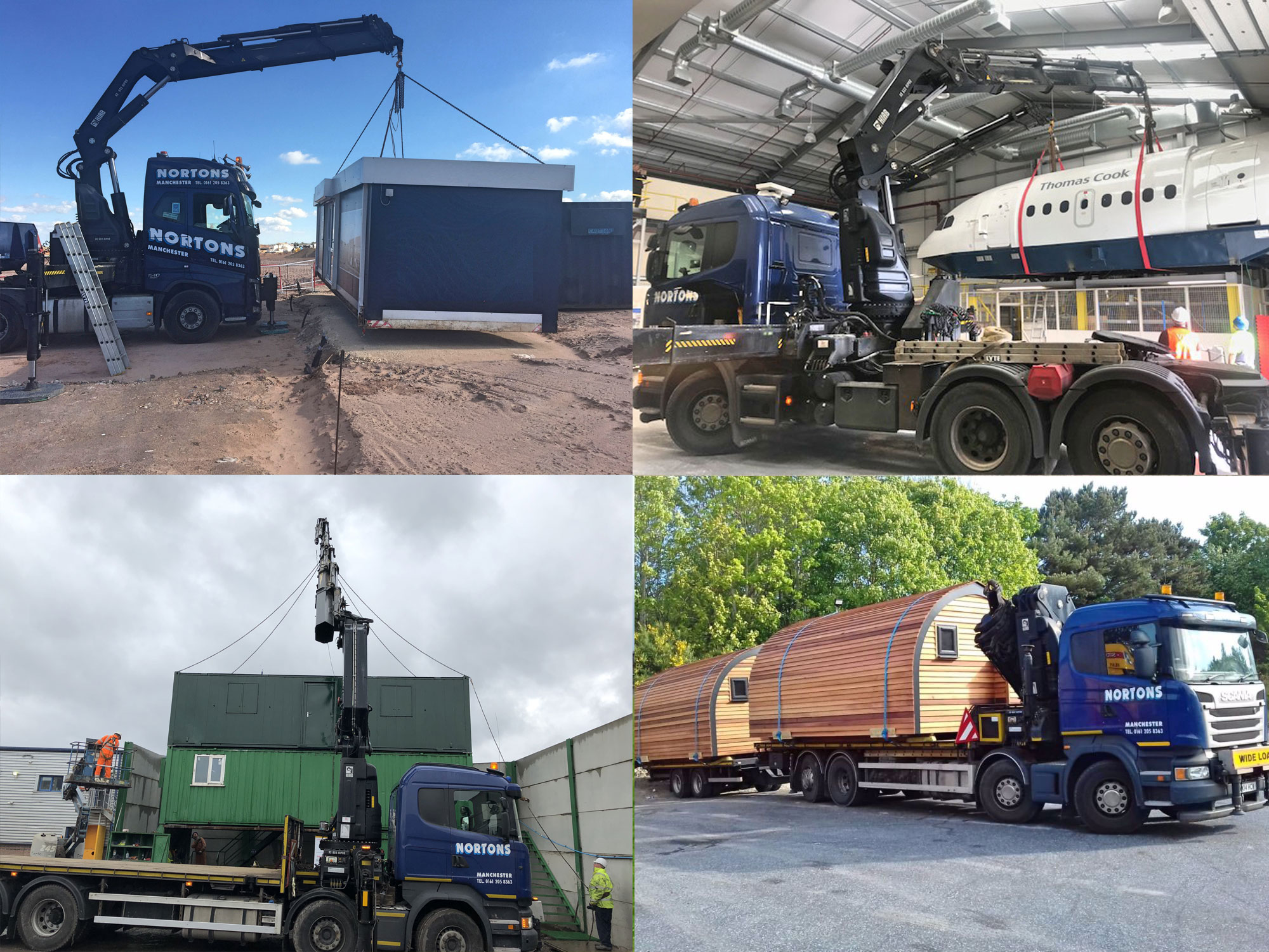 portable cabins & containers transportation