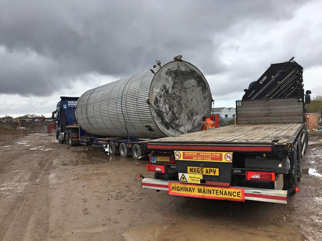lorry mounted cranes